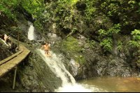 los suenos waterfall slide 