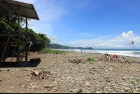 dominical beach attraction lifeguard station 