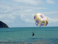parasailing close 