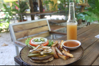 full meal burger kombucha luvburger 