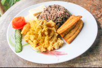 gallo pinto costa rica typical breakfast 