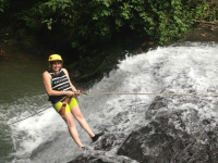 costa canyoning girl 