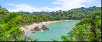manuel antonio national park attraction white sand beach    - Costa Rica