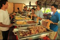 turtle beach lodge buffet 