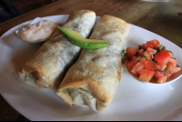 caliches chicken burritos 
