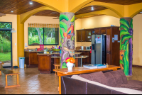 casa alice surf lodge kitchen