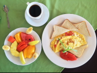 breakfast hotel puertocarrillo 