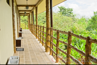 superior room building unit hall from the back of the roomslos lagos hotel resort and spa  - Costa Rica