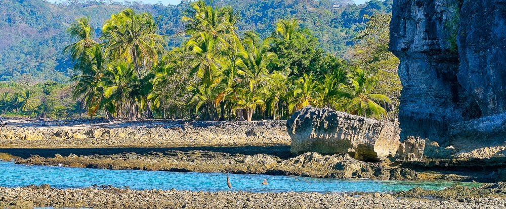 beach rocky shore cabo blanco