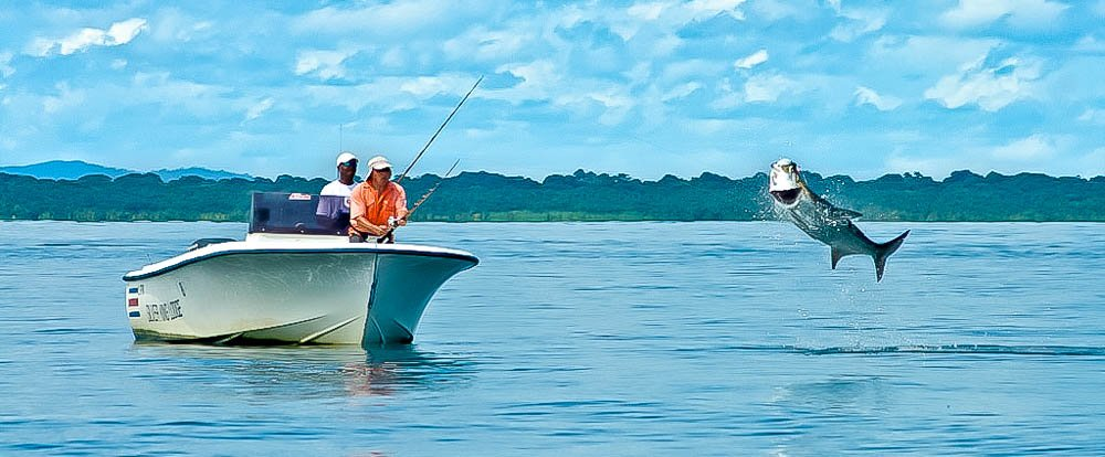 fishing at barra del colorado    - Costa Rica