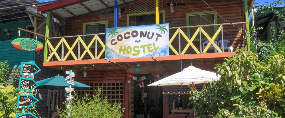 coconut hostel front 