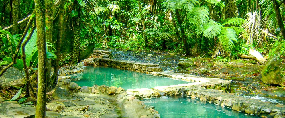 hot springs bosque termales 