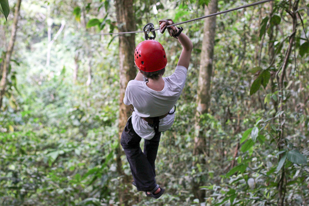 canopy tour sarapiqui son