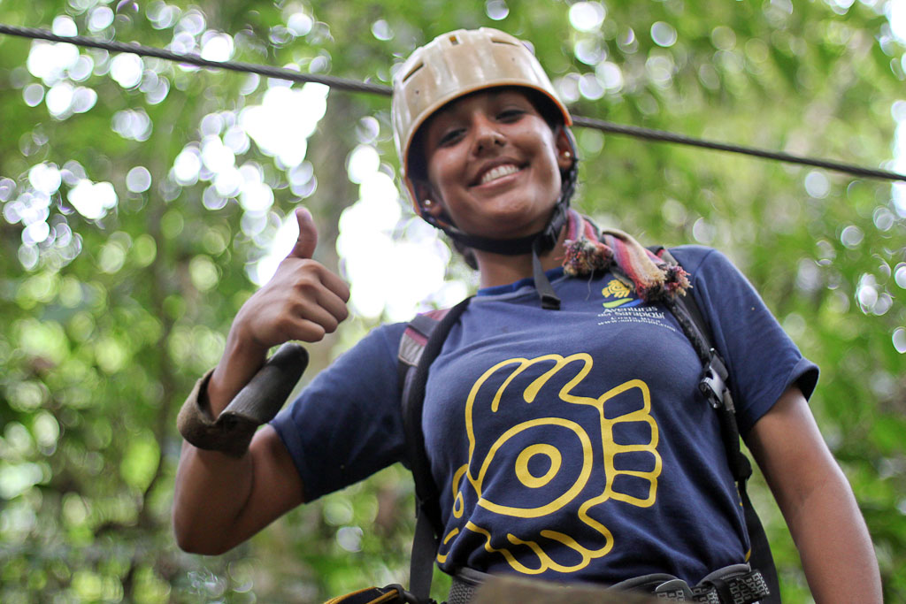 canopy tour sarapiqui guide