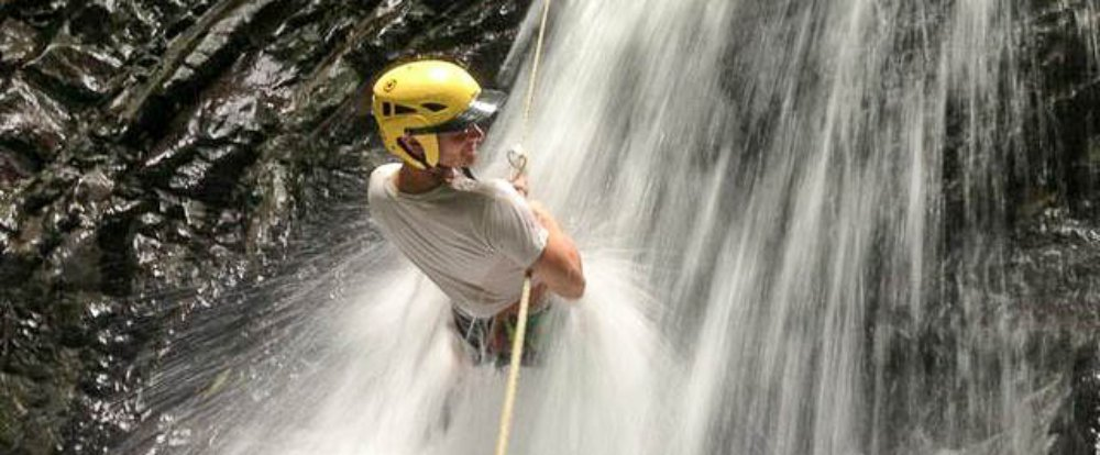costa canyoning waterfall 