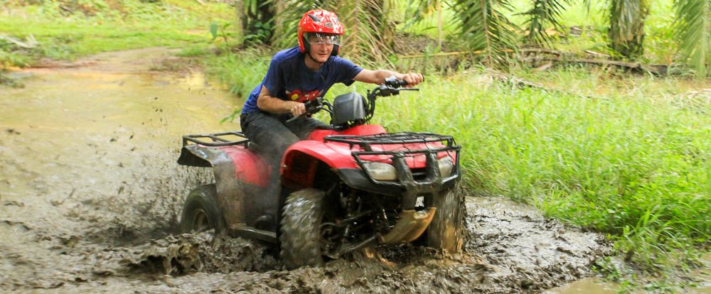 fourtrax puddle 