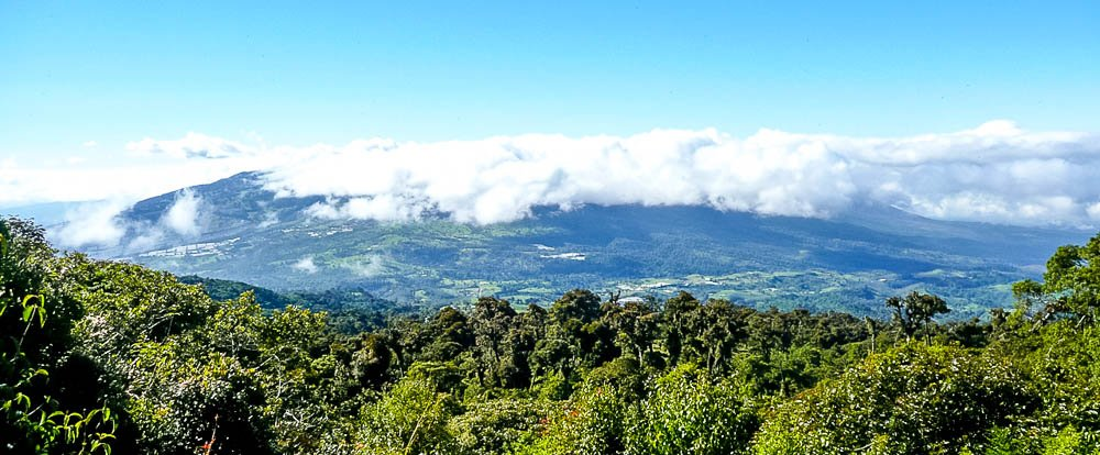 clouds view from barva  - Costa Rica