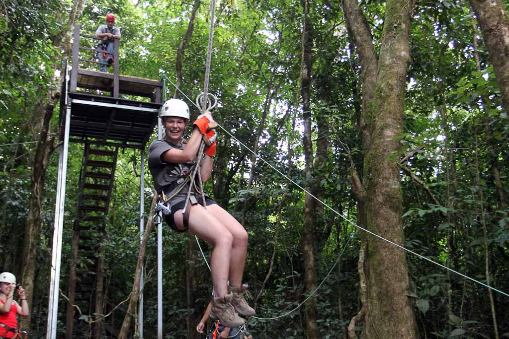original canopy tour tarzan swing 