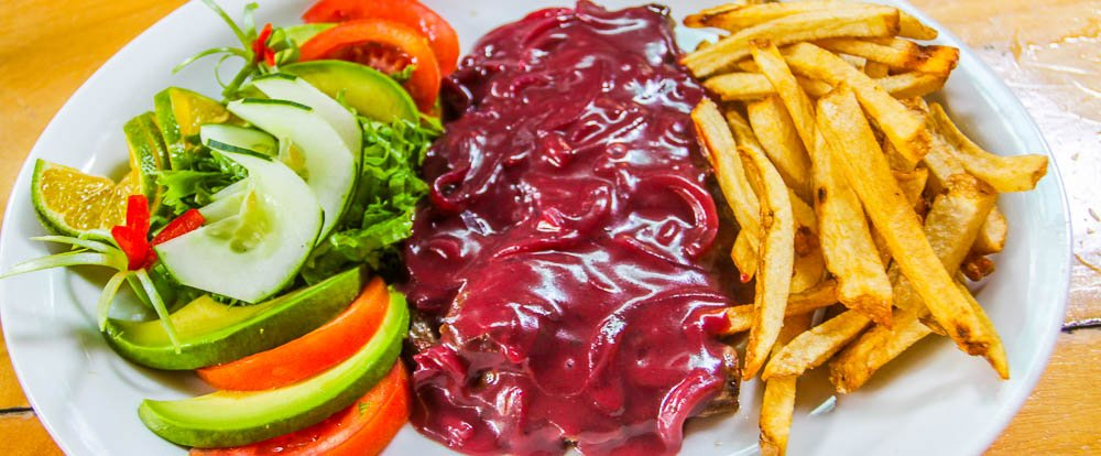 steak with redwine onion sauce ranchodelaplaya 