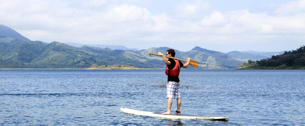 sup lake arenal 