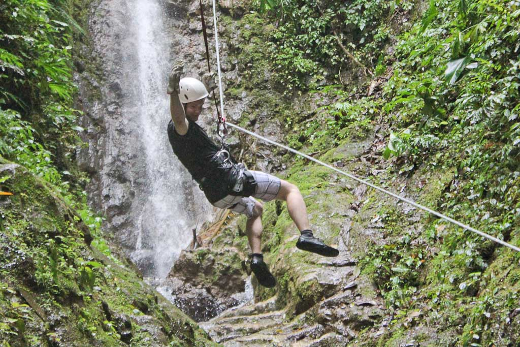lost canyon rappel 