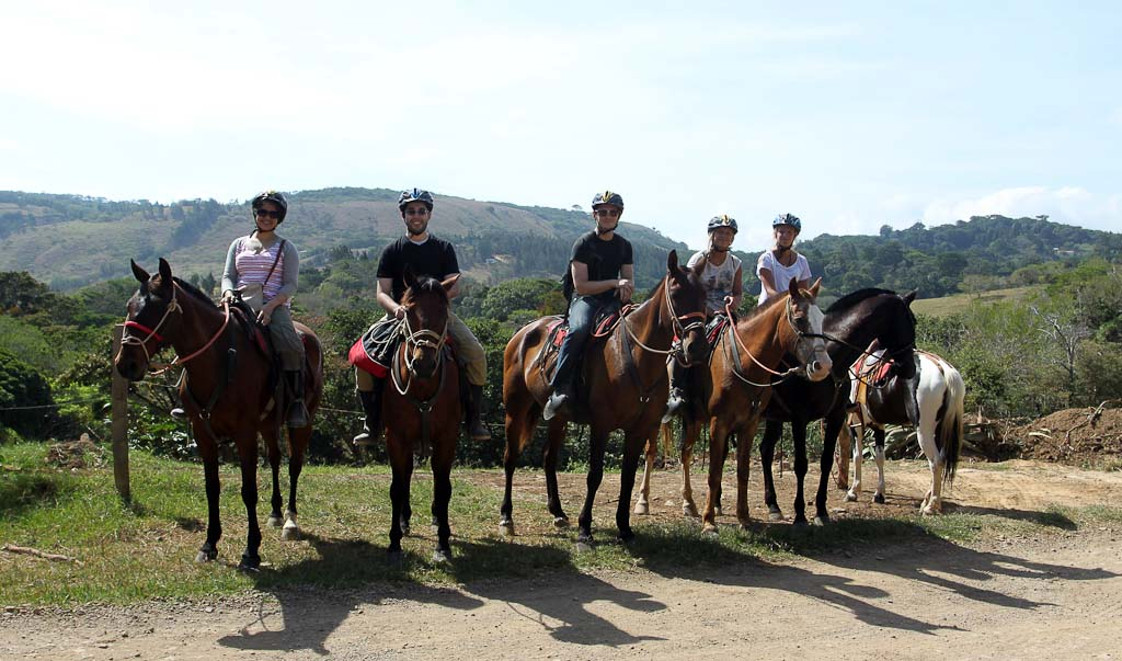 horsetrek monteverde group pictuire 