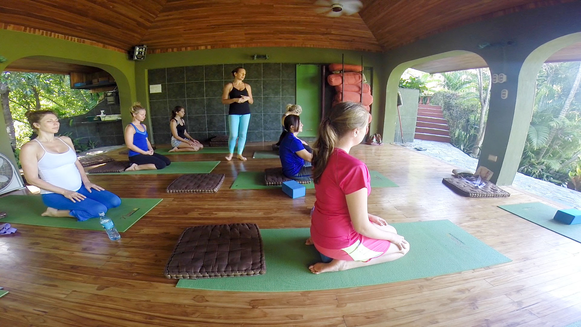 yoga class blog post