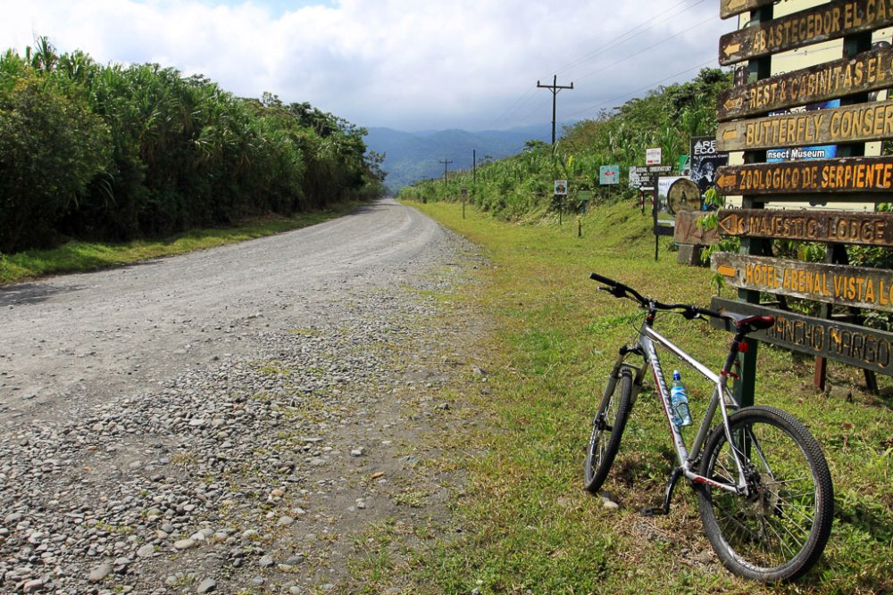 arenal mountain bike    - Costa Rica