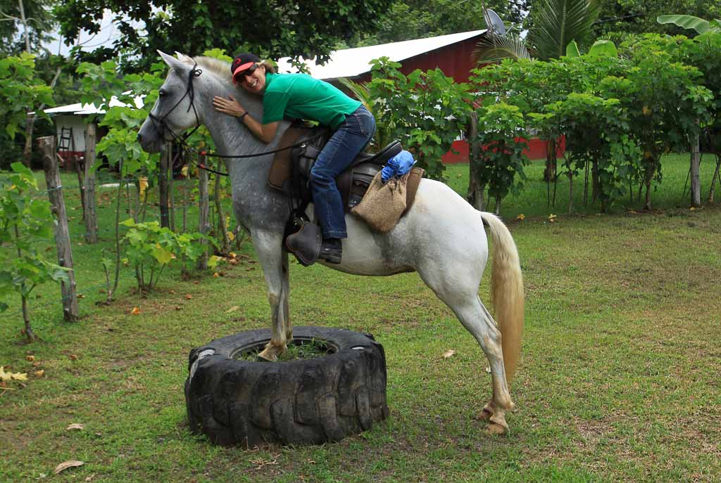 discovery horseback blog stretching    - Costa Rica