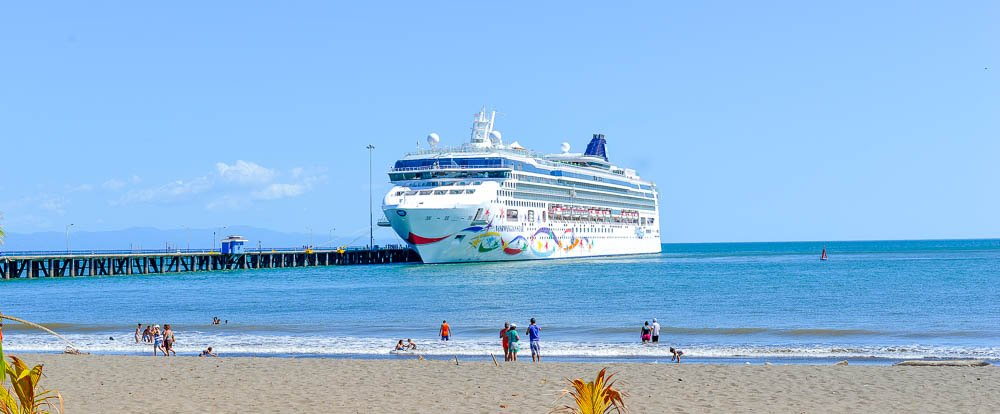 puntarenas pier cruise ship  - Costa Rica