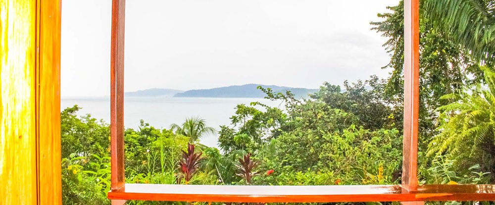 bay view from the room aguila de osa drake bay