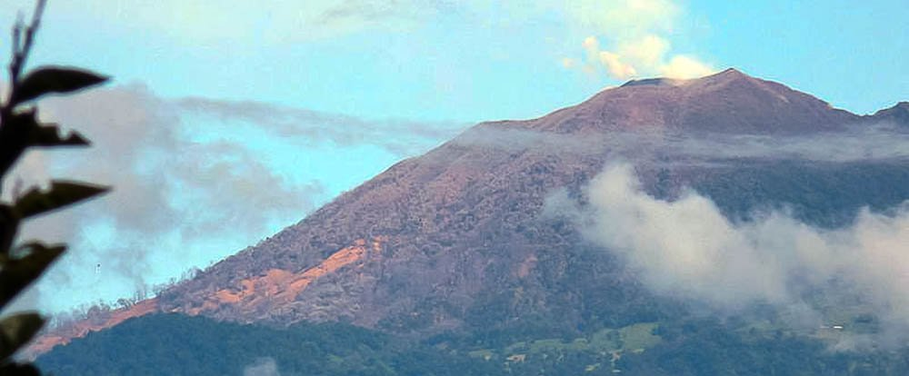 turrilaba volcano slopes