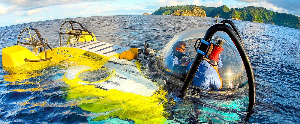 deep sea submarine cocos island