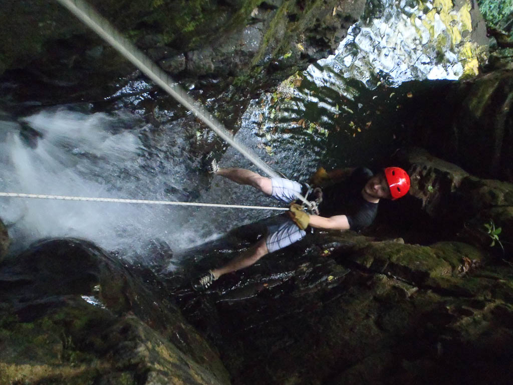 monteverde canyoning tour 