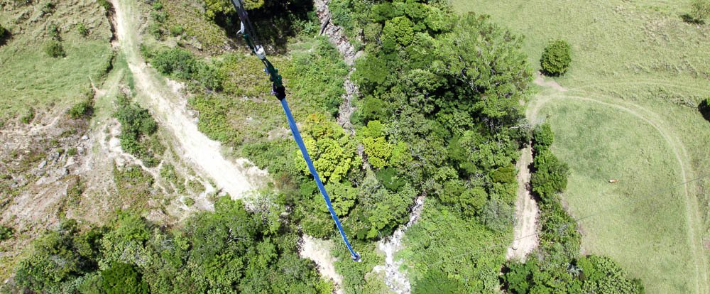 extremos at the bottom of bungee 