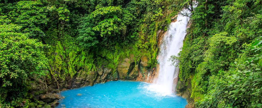 Santa Maria Honda >> Celeste River Waterfall