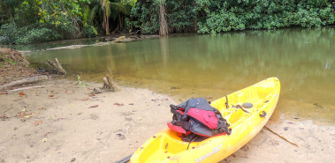 Punta Uva River and sea kayaking with hike - Costa Rica