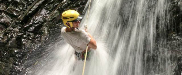 Waterfall Rappelling Costa Rica