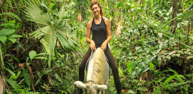 Beach jungle horseback trek - Costa Rica