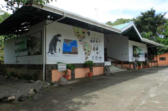 sloth sanctuary exterior 