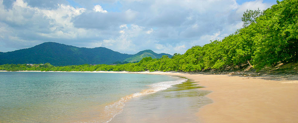 beach at playa conchal 