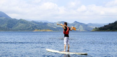 Stand Up Paddle Surfing - Costa Rica