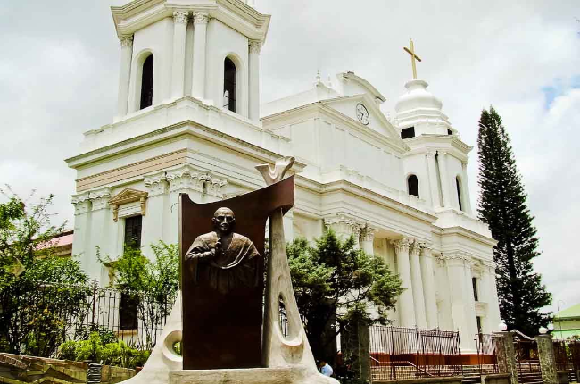 Front View of Alajuela Cathedral