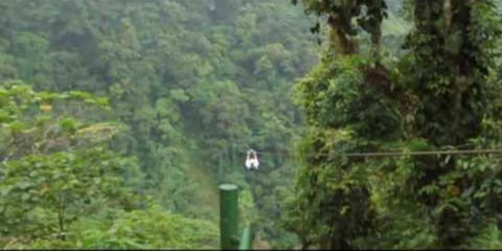 skytrek arenal video  - Costa Rica