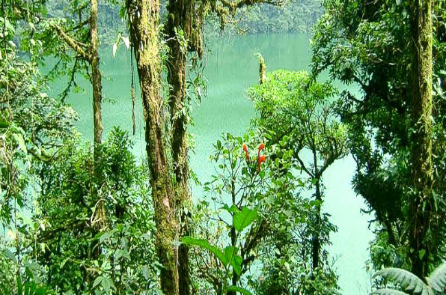 cerro chato crater lake