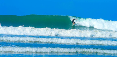 North Pacific surf spots and breaks - Costa Rica