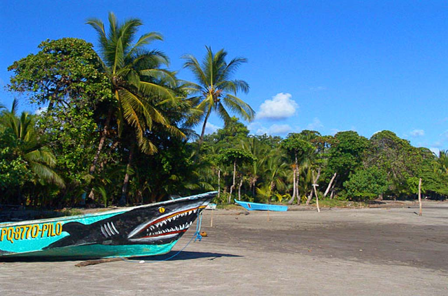 fishing boat playa esterillos west